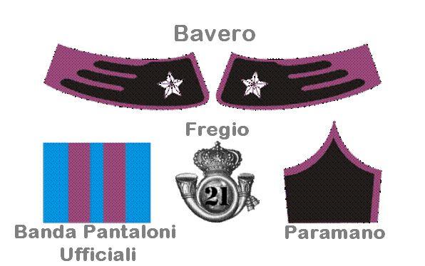 Colori Cavalleggeri di Padova 21°