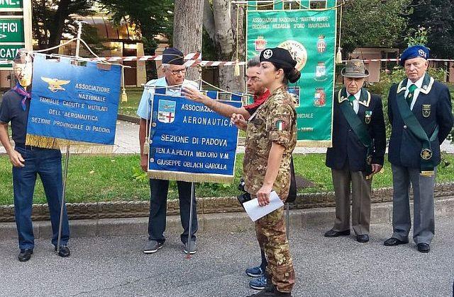 Caserma Oreste Salomone Padova alzabandiera del 16 Settembre 2019
