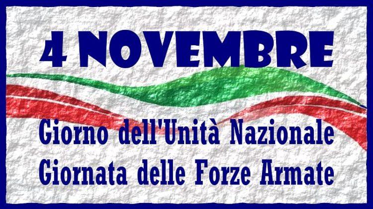 4 novembre giornata delle Forze Armate