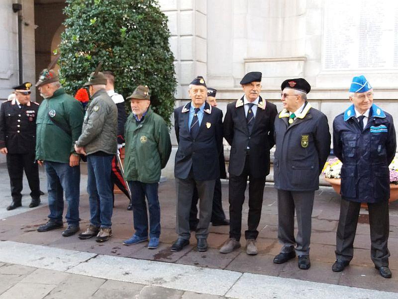 Padova 04 novembre 2019 celebrazione dell'Unità Nazionale e Giornata delle Forze Armate