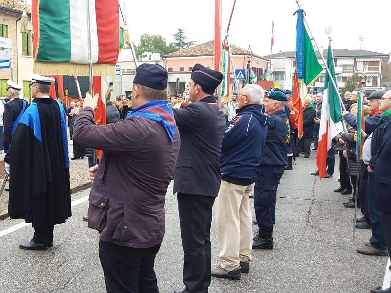 Cadoneghe (PD) Manifestazione dell'Unità Nazionale e delle Forze Armate Domenica 03 novembre 2019