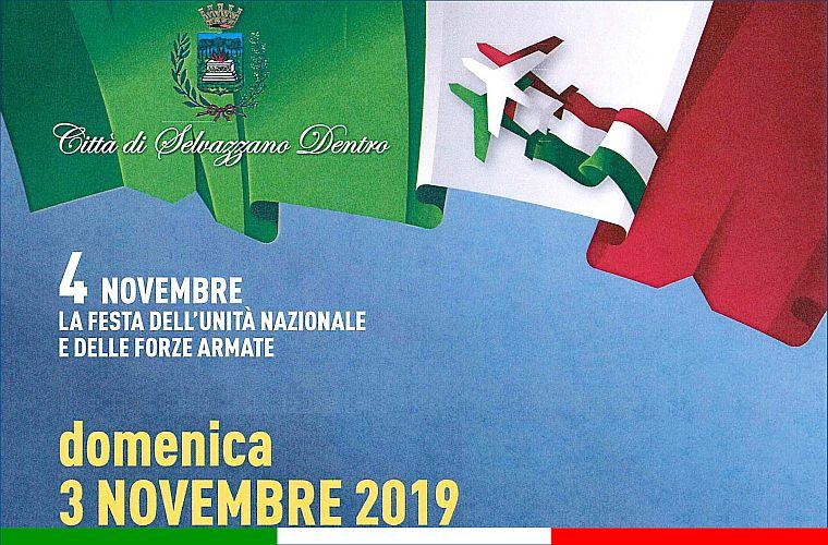 domenica 03 novembre 2019 Selvazzano Dentro (PD) Cerimonia di commemorazione Festa dell'unità Nazionale e delle Forze Armate