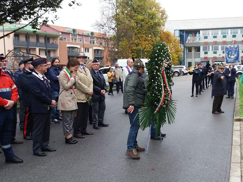 domenica 03 novembre 2019 Selvazzano Dentro (PD) commemorazione Festa dell'unità Nazionale e delle Forze Armate