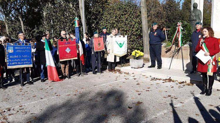 domenica 10 novembre 2019 Polverara (Padova) commemorazione dell'Unità Nazionale e delle Forze Armate