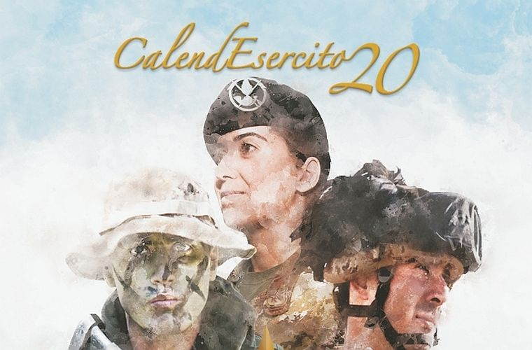 Calendario Esercito 2020