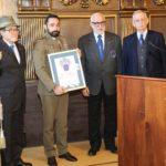 12 gennaio 2020 Palazzo Gran Guardia Padova Serg. Andrea Adorno MOVM