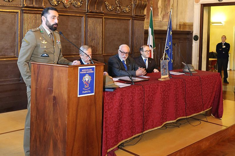 Padova 12 gennaio 2020 Palazzo Gran Guardia MOVM Serg. Andrea Adorno